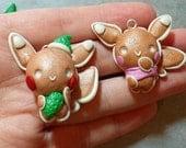 PRE-ORDER: Pokemon Inspired Pikachu Gingerbread Christmas Tree Ornament
