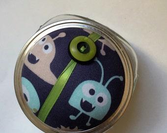 Pincushion. Mason Jar. Mischievous Monsters