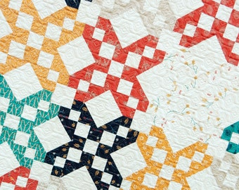 Stepping Stones Quilt PDF Pattern