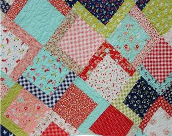 Picnic Quilt Paper Pattern