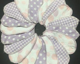 Single MamaBear LadyWear Interlabial / Intralabial Petal Pad - Bamboo Flannel