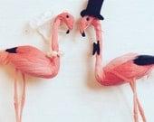 Flamingo Wedding Cake Topper - Personalised, Customised, Unique - Choose your Wedding Accessories!