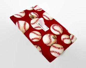 Baseball Light Switch Cover - Baseballs Switch Plate - Boys Sports Bedroom - Sports Baseball Decor - Outlet Cover - Boys Playroom Baseball