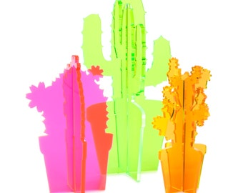 Neon Cactus Etsy