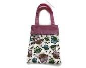 Handmade Fabric Owl Gift/Goodie Bags - Owls