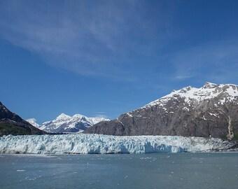 Margerie Glacier, Glacier Bay, Alaska Panorama Print - 10x20 Landscape Photo Print