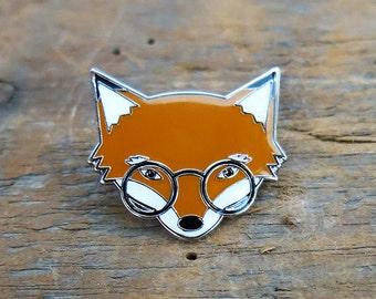 Mr. Fox Lapel Pin