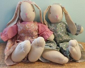 bunnies rag dolls