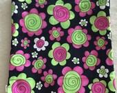 Flowers - Eco-Friendly Reusable Sandwich Bag - Go Green