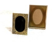 Antique Brass Picture Frames