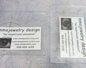 Clear Verticle OR Horizontal ID Badge Holder Sleeve