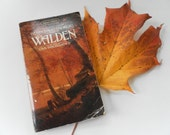 WALDEN or Life in the Woods and Civil Disobedience by Henry David Thoreau Vintage paperaback 1960