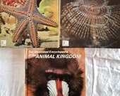 3 Vintage Volumes (1, 18, 19) of The Illustrated Encyclopedia Of The Animal Kingdom