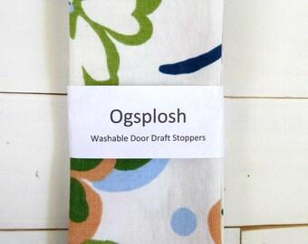 Draft Stopper - Flower Door Snake - Floral Draft Stopper - Modern Home Decor. 230