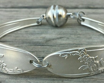 Simply Elegant Antique Spoon Bracelet