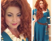 Princess Merida Brave Adult Costume Wig Style 2 - A True Enchantment Original