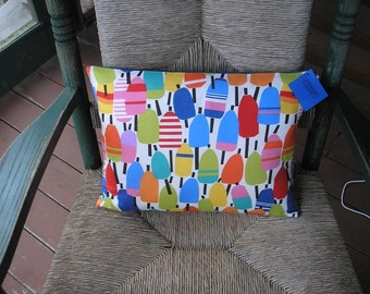 Maine Made Lobster Buoy Pillow