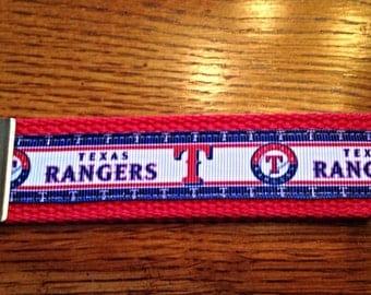 Rangers Key Fob Keychain