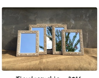 Mirror - Decorative Mirrors - Shabby Chic Mirrors - Wall Mirrors - Instant Collection - Farmhouse Decor - Chic