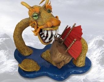 Shrimp Lo Mein, original mixed-media sculpture ©2015 Jett Vincent Bailey