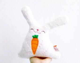 Stuffed Bunny Plush, Plush Rabbit, Stuffed Rabbit, Easter Bunny, Plush Bunny, Bunny Toy, Furry Bunny - Little Roro