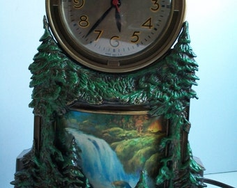 Mastercrafters Motion Clock Waterfall Clock