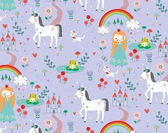 Riley Blake Fabric Princess Dreams Main Purple