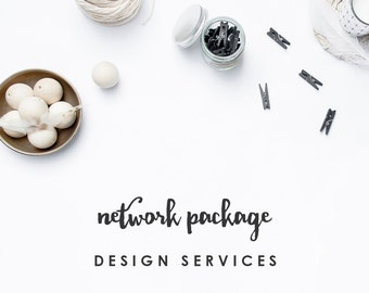 Custom Network Package - Branding for Your Shop or Business + Blog