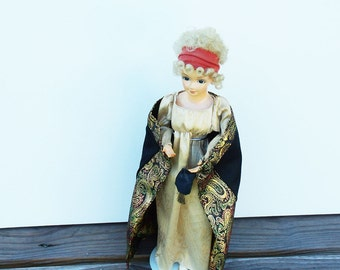 Vintage Doll, Martha Jefferson Randolph doll, collectible doll figurine, President  Thomas Jefferson, Brinn's presidents wives dolls