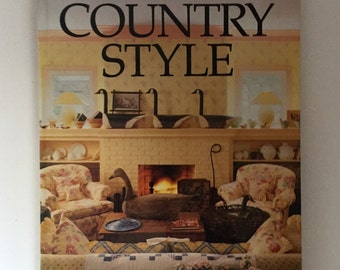 Country Style, Better Homes and Gardens, Vintage 1987
