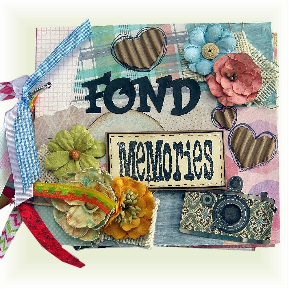 How to scrapbook memories - Sold By Heirloomsbylorraine