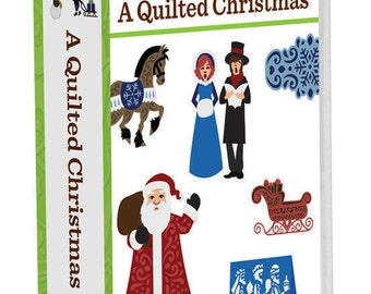 NEW Factory Sealed Cricut A Quilted Christmas Art Cartridge 700 Images