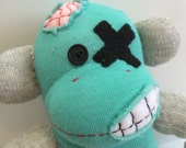 Cosplaying Zombie Sock Monkey - Shane
