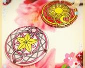 Cardcaptor Sakura Compact Mirrors