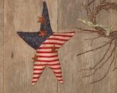 Primitive Americana Star Ornie