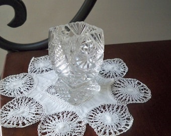 Vintage Home Serving Glass Toothpick Holder Old Glass Collectible