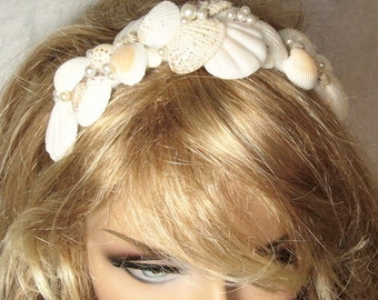 Sea Shell Head Piece from the  Mermaids Jewel Box