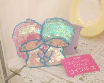 little twin stars pouch purse original japan