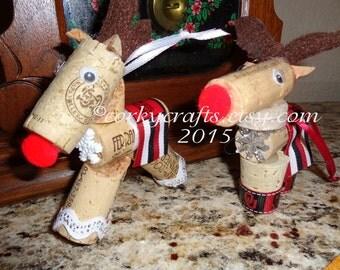 Oklahoma Boomer Sooner reindeer ornament, new student, alumni gifts