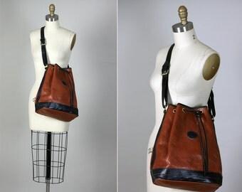 Vintage Elegant Vampiro Florence Leather Italy Shoulder Bag Purse Handbag