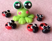 Froggy and Ladybug Friends