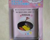 Food craft tool to make japanese omelette tamagoyaki, pancake, cookies - Stainless steel partition - rectangular cutter