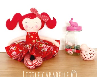 Handmade Doll. Modern rag doll, dolly. Ce tested and perfect for playtime