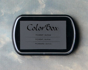 Grey Stamp Pad (Antique Pewter) // Pigment Archival Ink // ColorBox