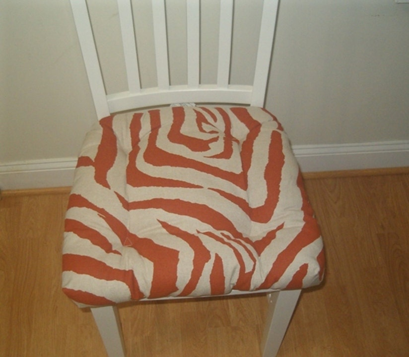RTS Tufted chair pad seat cushion bar stool cushion Zebra : ilfullxfull892671541jzkn from www.etsy.com size 824 x 720 jpeg 92kB