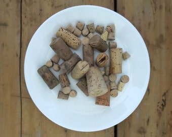 40 vintage corks Collection of corks Wine corks Thermos cork Tiny corks Variety of corks Cork stoppers Vial corks Bottle corks