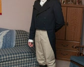 Custom order Bingly Blue Tailcoat with pocket flaps