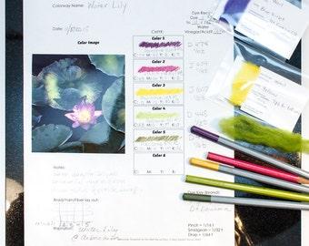 Dye Palette Worksheet (Print Your Own PDF)
