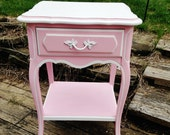 French Pink Nightstand