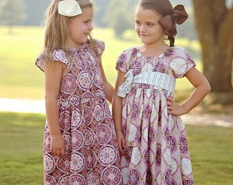 ON SALE! Kaleidoscope nelle dress (coordinating line), size 12mos.-8 girls